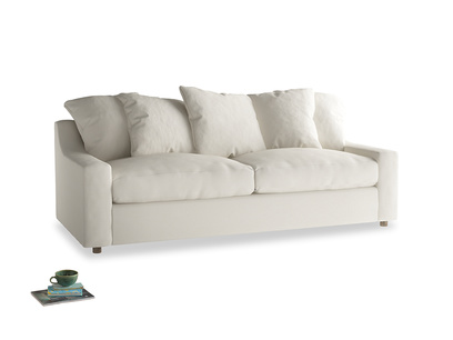 Large Cloud Sofa Bed in Chalky White Clever Softie
