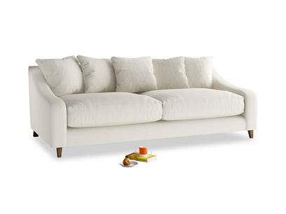 Large Oscar Sofa in Chalky White Clever Softie