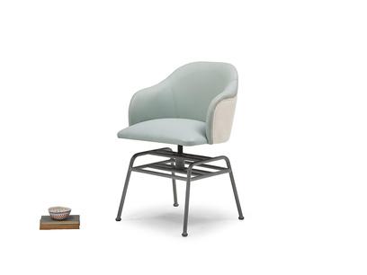 Milkshake kitchen chair in Duck Egg