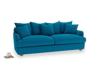Large Smooch Sofa in Bermuda Brushed Cotton