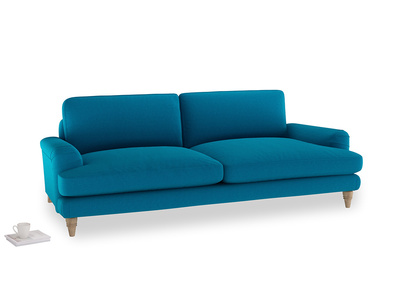 Large Cinema Sofa in Bermuda Brushed Cotton