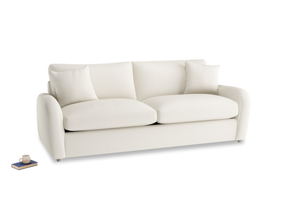 Large Easy Squeeze Sofa Bed in Chalky White Clever Softie