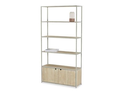 Tall Tim Industrial Shelves Angle