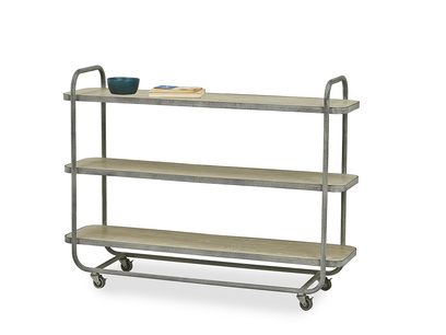 Side Busboy Industrial Trolley on Wheels