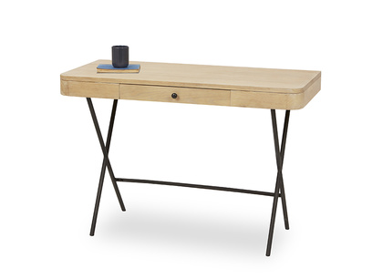 Jotter slim line oak desk