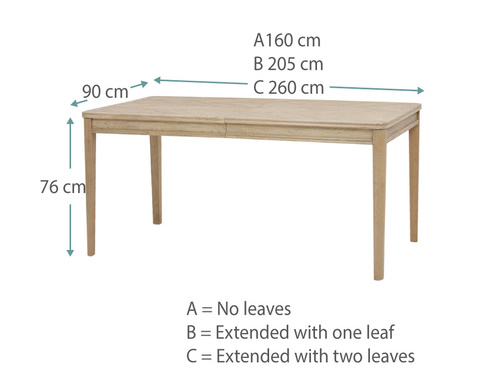 Jigsaw table Dims