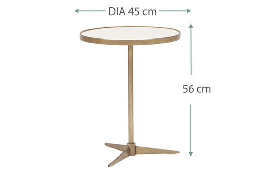 Vino side table dims