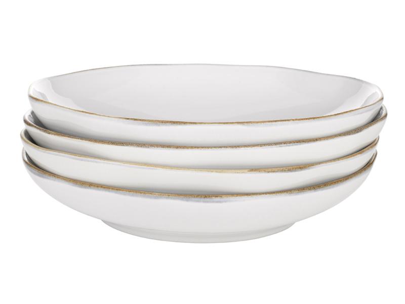 Wobbler kitchen white ceramics pasta bowls