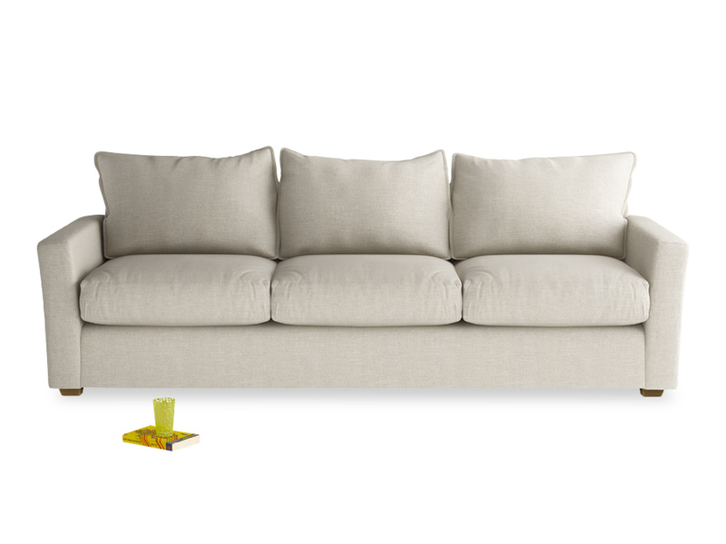 British made luxury and contemporary Pavilion sofa, deep seated and very comfortable