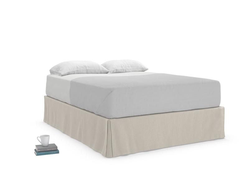 British made beautiful soft bed valance