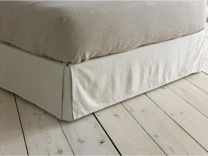 Handmade thick Brtishmade bed valance