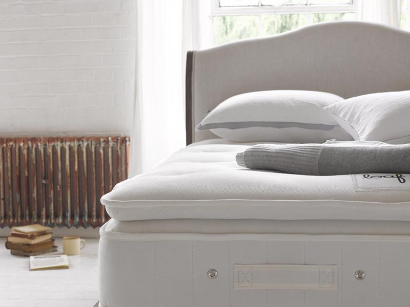 Natural latex pocket sprung Muffin Top memory foam mattress