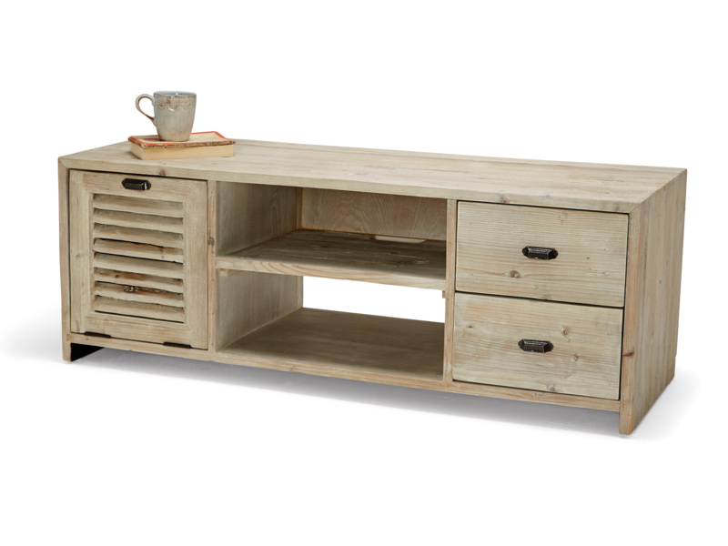 Wooden vintage reclaimed Toot Sweet TV stand