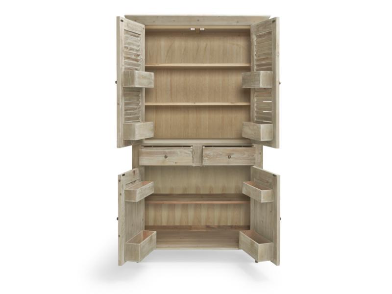 Kitchen Super Sucre French larder cupboard