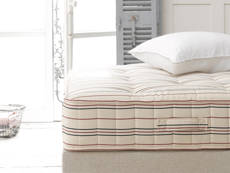 Spare Room mattress is pocket sprung, firm and comfortable