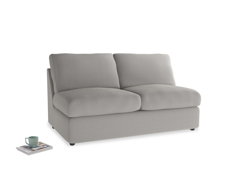 Chatnap Sofa Bed in Wolf brushed cotton