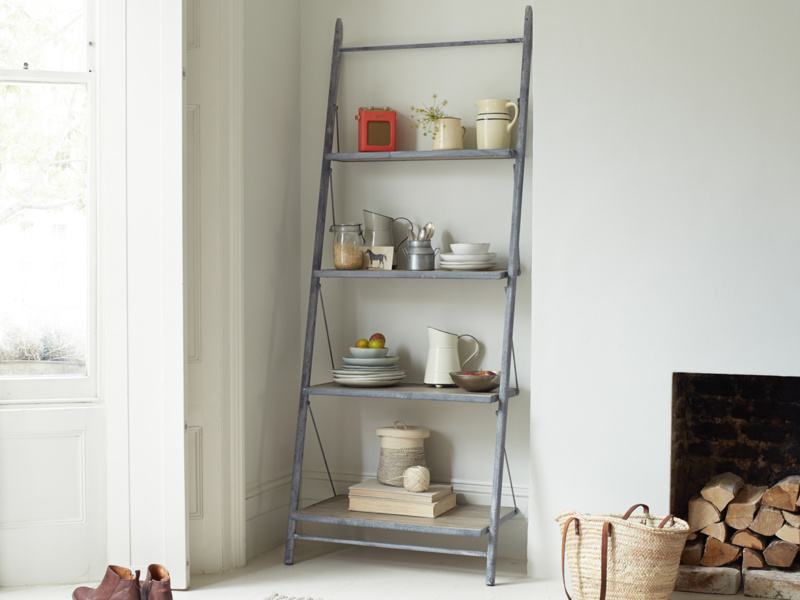 Ladder Pisa British made industrial shelves