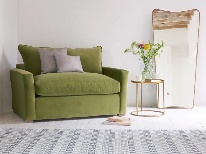 Pavilion single luxury comfortable love seat sofa bed