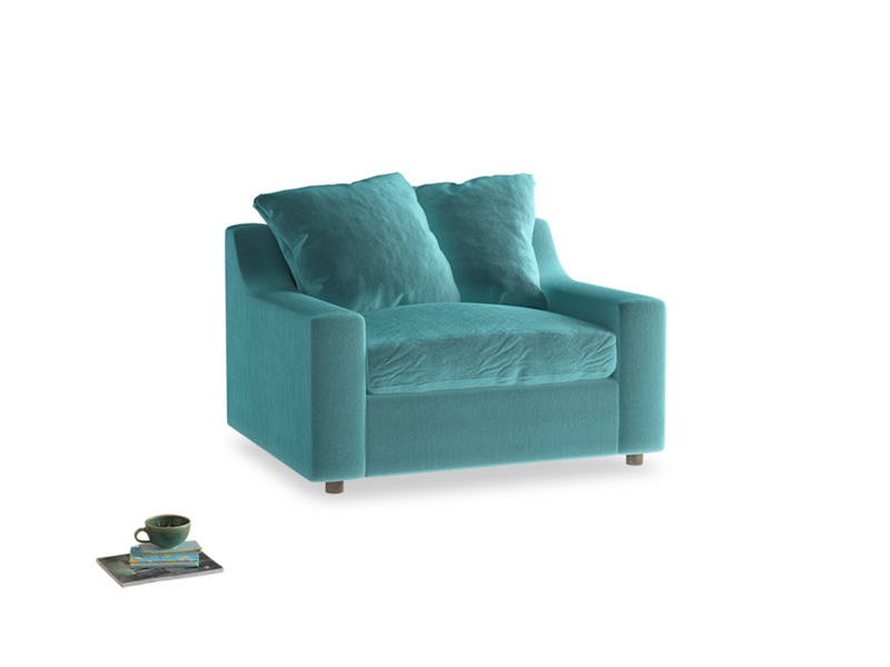 Love Seat Sofa Bed Cloud love seat sofa bed in Belize clever velvet