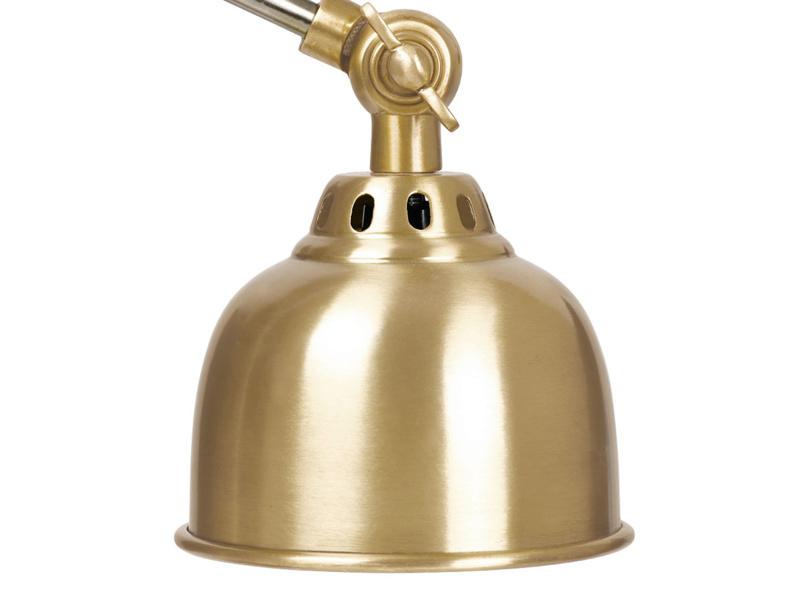 Mini Gaston brass kids desk lamp