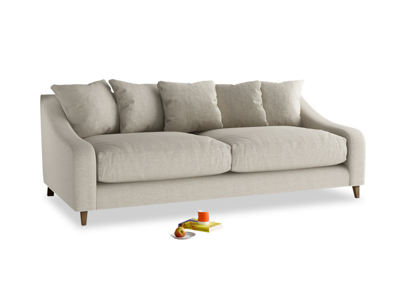 Luxury Oscar sofa classic style extra deep with scatter cushion back