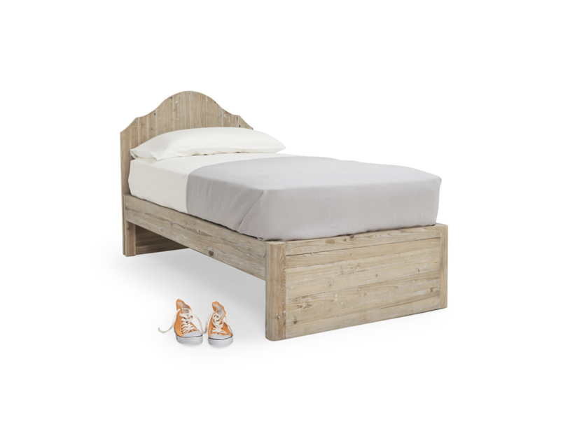 Greta children's wooden bed with room for storage