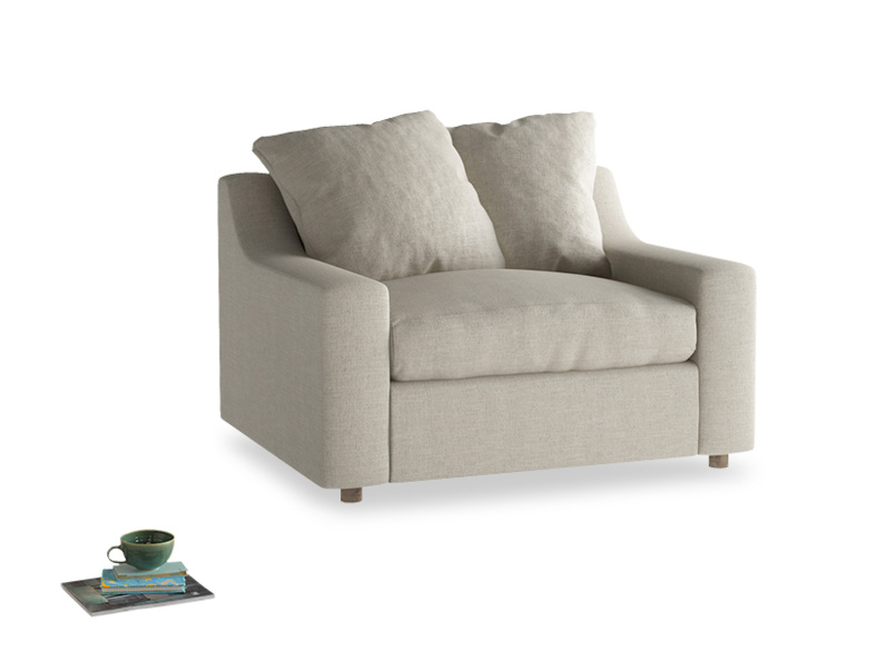 Comfy luxury modern Cloud love seat sofa bed
