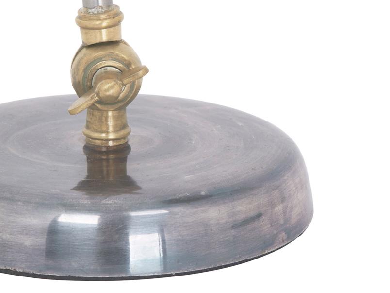 Gaston vintage brass desk bedside table lamp with adjustable lamp stem and head