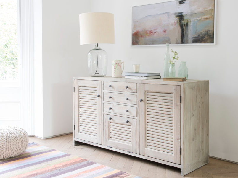Beautiful wooden Grand Sucre sideboard