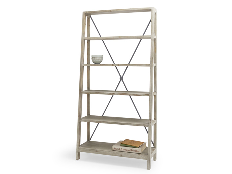 Handmade Big Mucker beautiful wooden shelving unit