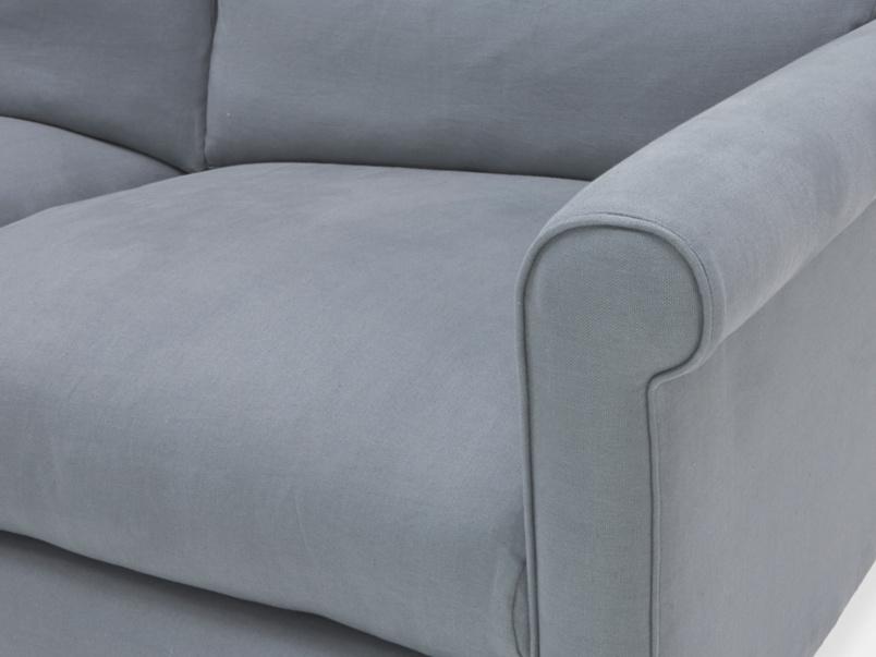 High arm fabric Weekender sofa