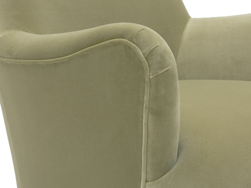 Comfy wingback Gramps armchair