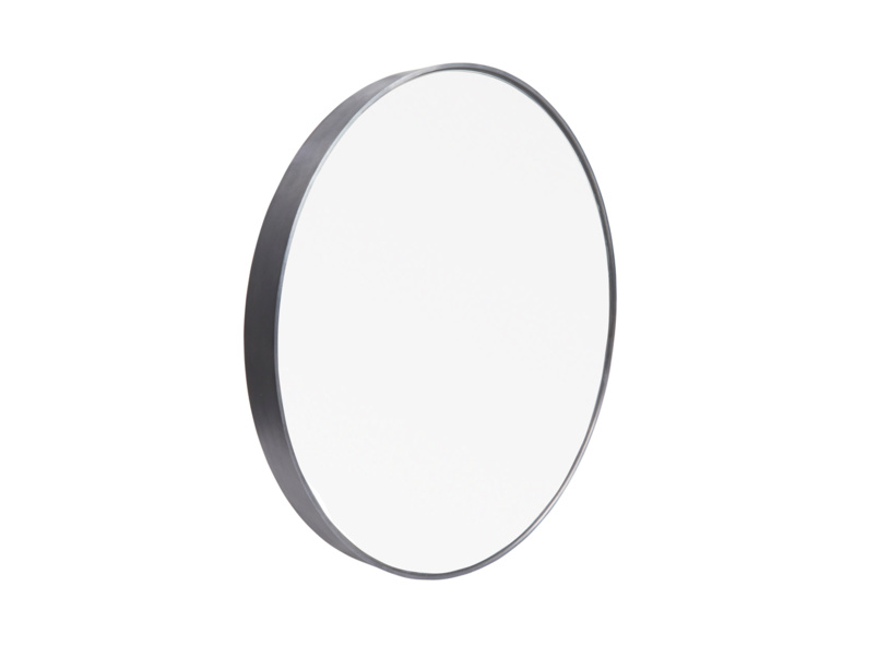 Metal circular Jago wall mirror