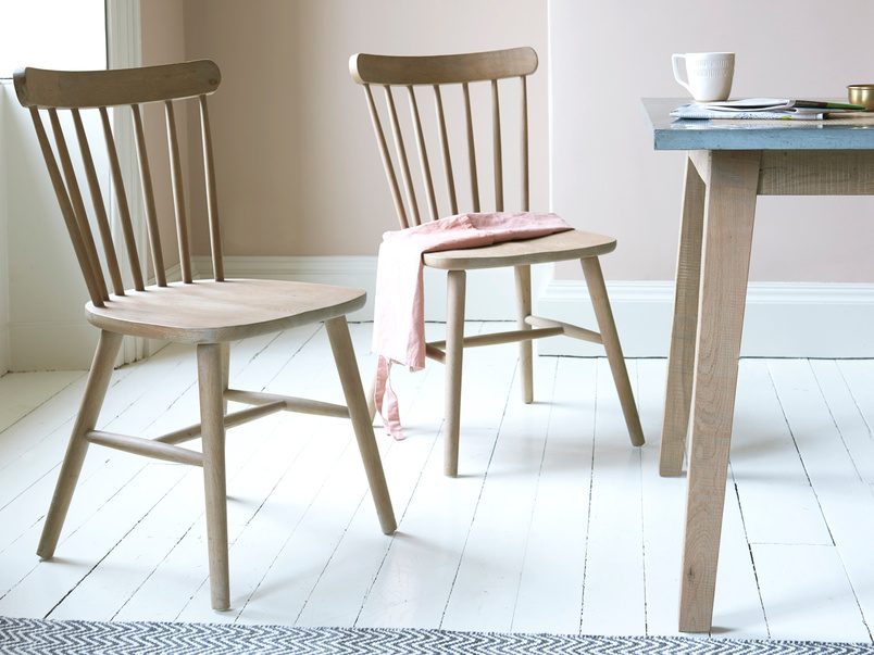 Natterbox windsor wooden kitchen chairs