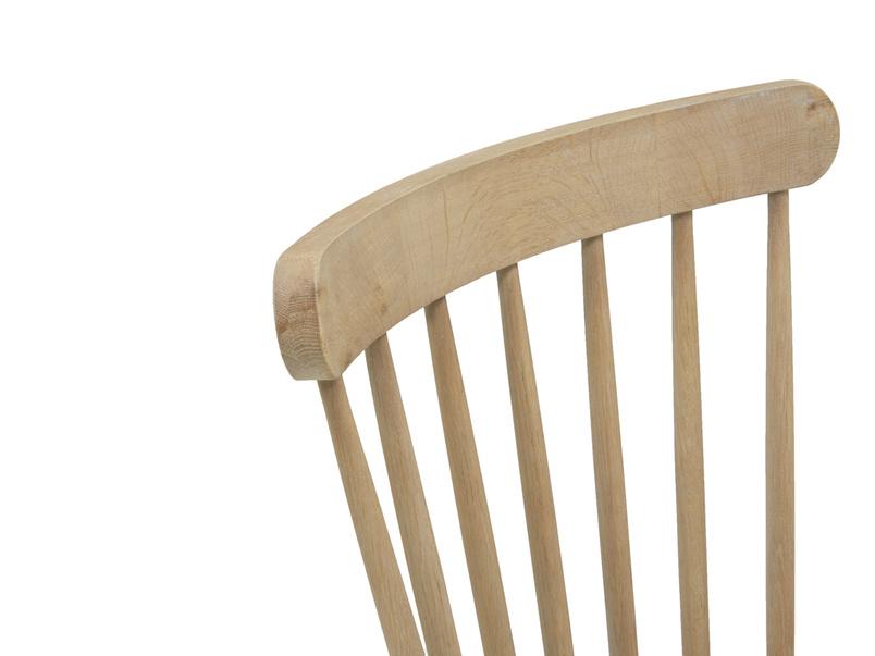 Natterbox wooden oak kitchen chairs