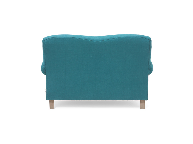 Contemporary Crumpet love seat chaise