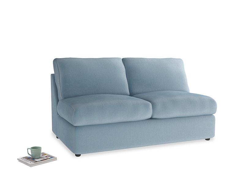 Chatnap Storage Sofa in Chalky blue vintage velvet