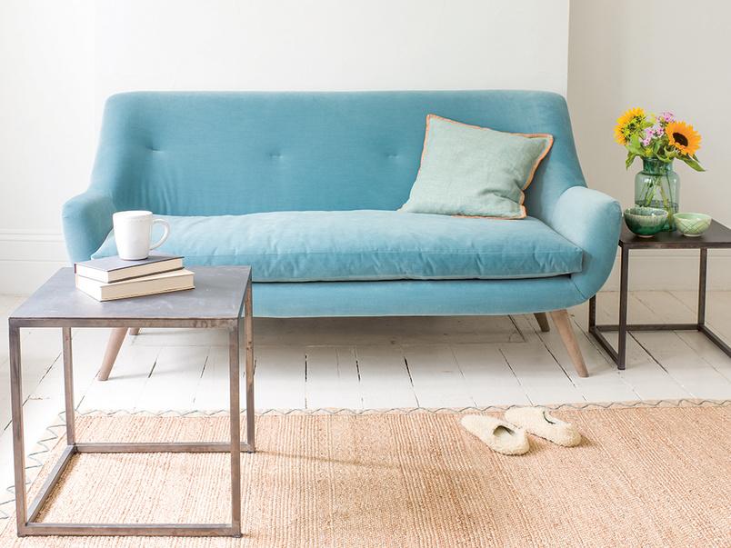 Luxury Berlin retro sofa handmade in Britain