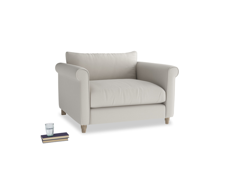 Love Seat Weekender Love seat in Moondust grey clever cotton