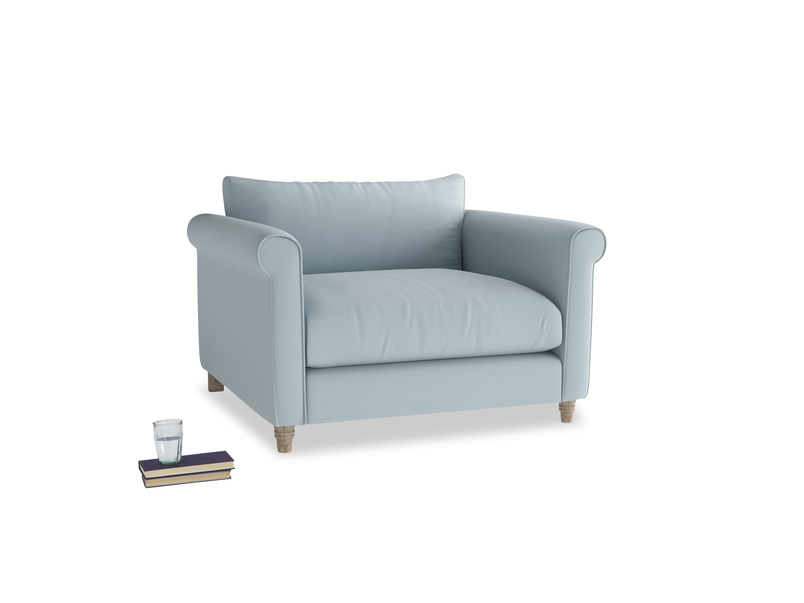 Love Seat Weekender Love seat in Scandi blue clever cotton