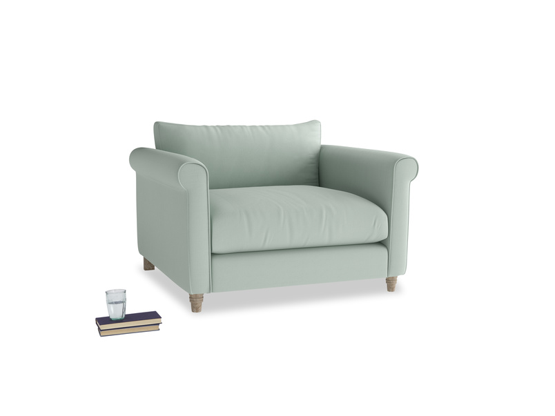 Love Seat Weekender Love seat in Sea surf clever cotton