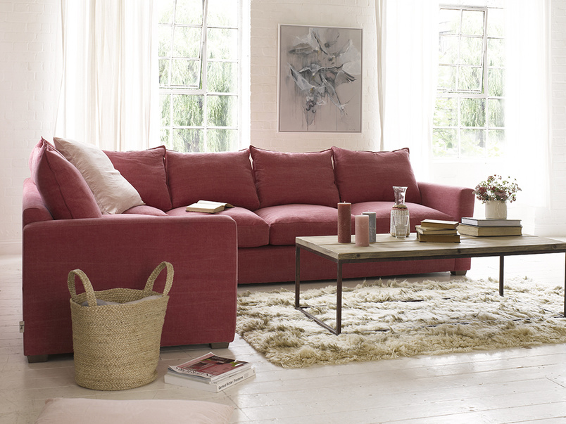 Extra large deep and comfy Pavilion corner sofa