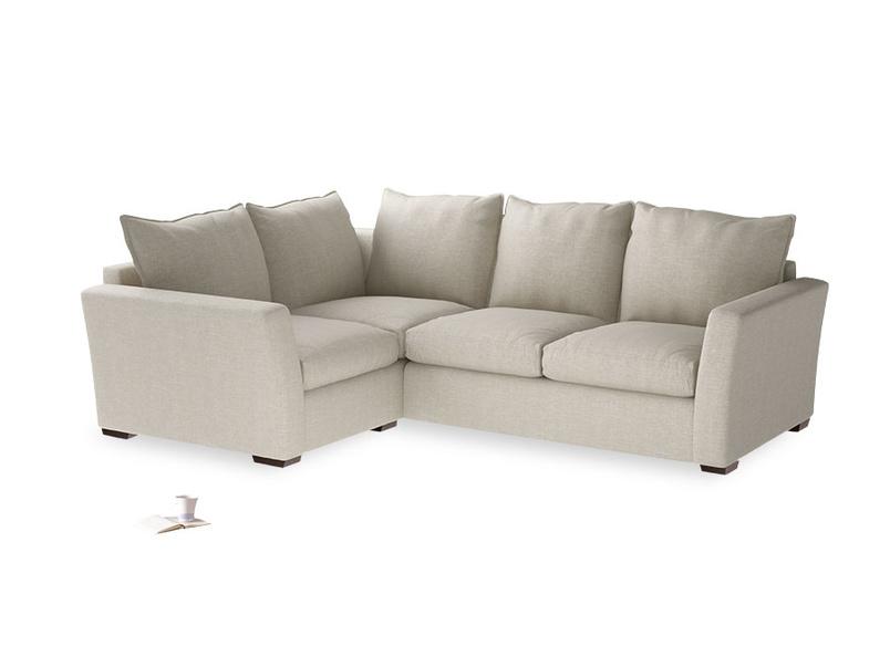 British made luxury comtemporary Pavilion corner deep seated sofa