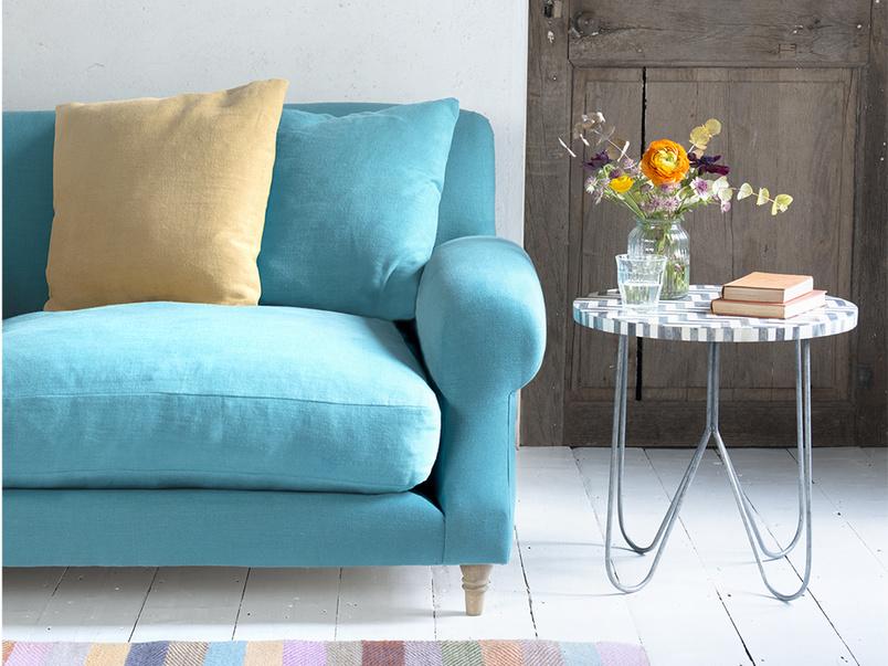 British made contemporary handmade authentic Crumpet sofa