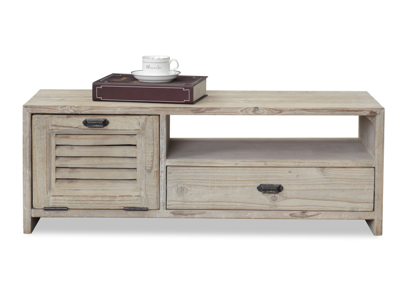 Reclaimed Teeny Toot Sweet small wooden retro TV stand