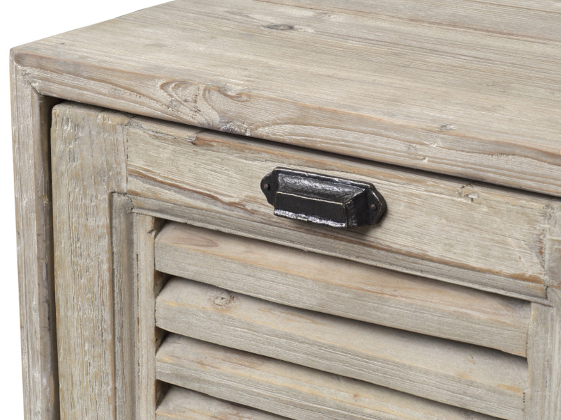 Teeny Toot Sweet reclaimed retro small wooden TV stand