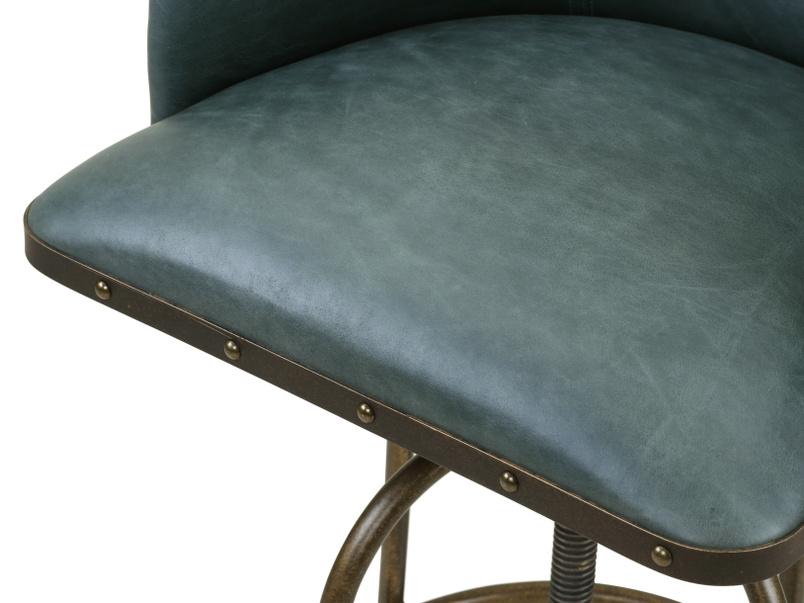 Upholstered swivel Milk counter and breakfast bar stool