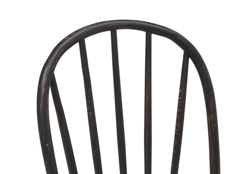 Chortler wooden spindle back kitchen chairs