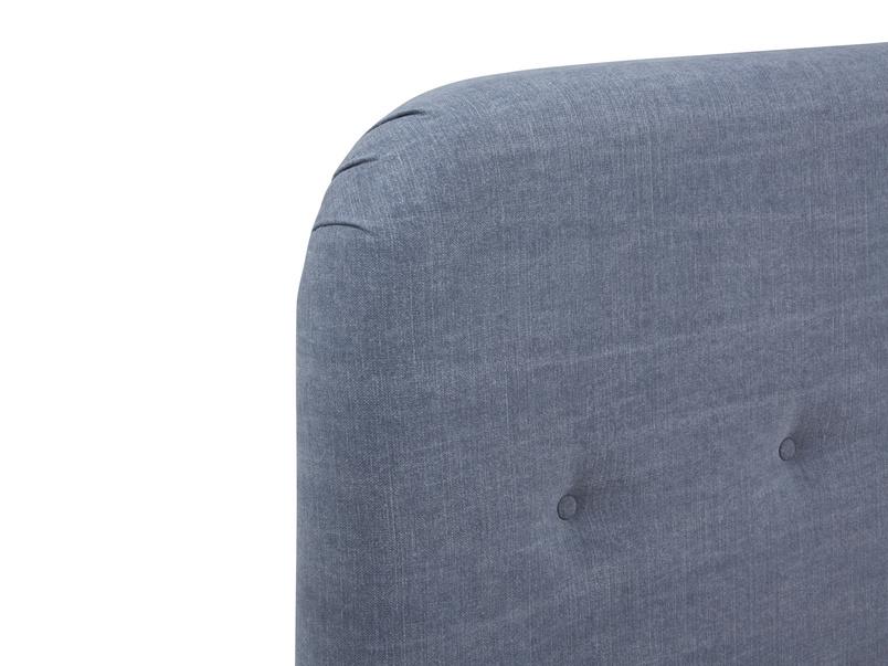 Napper contemporary button back headboard