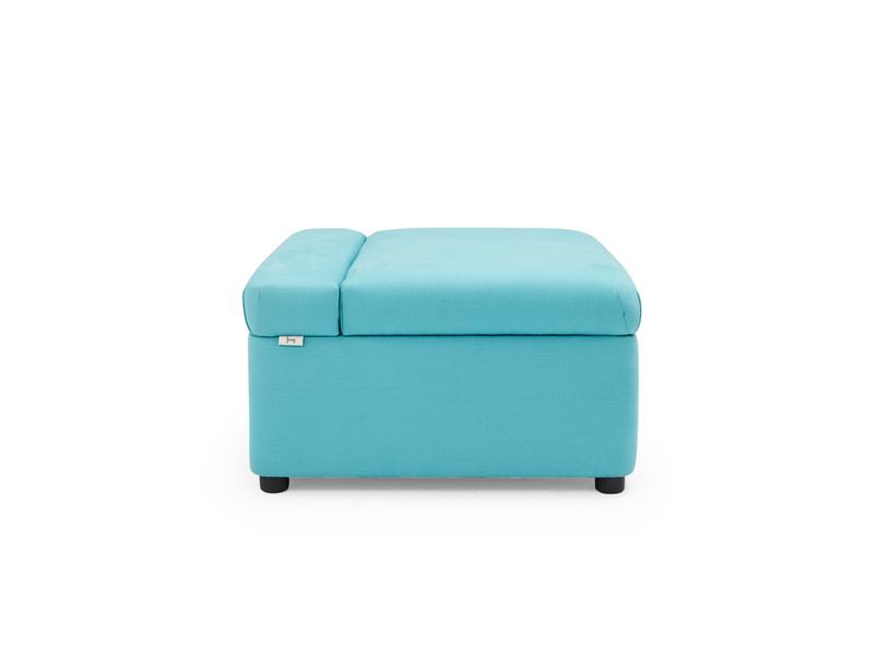 Bed in a Bun footstool and guest bed